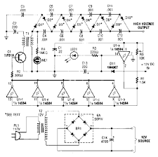 high voltage dc generator circuit diagram wiring schema