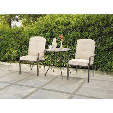 Mainstays Crossman 7 Piece Patio Dining Set Green Seats 6 - mainstays ashwood heights 3 piece bistro set walmart com