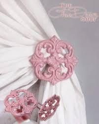 White Metal Curtain Holdbacks Best 25 Pink Curtain Holdbacks Ideas On Pinterest White Curtain