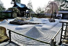 japanese rock garden karesansui also known as the garden of