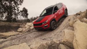 jeep compass 2017 trailhawk 2017 jeep compass trailhawk offroad driving demo youtube