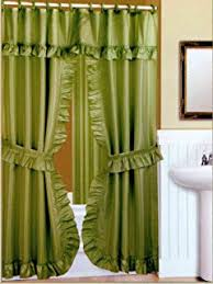 Shower Curtain And Valance Amazon Com Butterfly Floral Double Swag With Valance Tie Backs