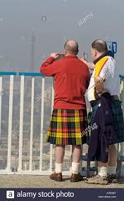Scottish Flag Tattoo Scottish Fan Stockfotos U0026 Scottish Fan Bilder Alamy