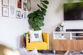 happy modern apartment therapy in or out cheeky word art on decor