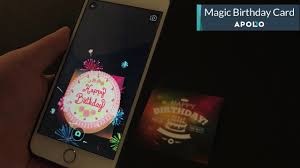 augmented reality powered magic birthday card youtube
