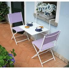 tavolino da terrazzo da balcone in metallo