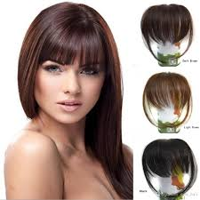 clip in fringe 10 20cm 100 real human hair fringe hair