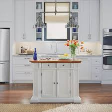 home styles kitchen islands kitchen island white and distressed oak finish homestyles