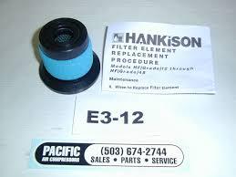 hankison element e3 12 hf series grade 3 max oil removal filter