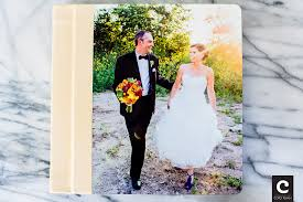 a modern wedding photo album cream leather binding u0026 acrylic