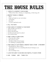 the house rules kiddos pinterest house rules house and parents