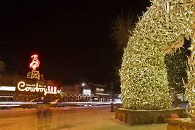 new years holiday lights jackson hole and teton village