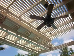 Pergola Ceiling Fan by Outdoor Ceiling Fan Pergola Home Design Ideas