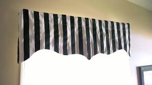Black And White Window Curtains Black Valance Patterns Awesome Homes