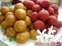 cuisine pakistanaise recette laddu 1001 délices de houria