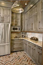 grey distressed kitchen cabinets like the cabinets and pulls kitchen pinterest kitchens house
