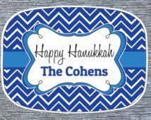 hanukkah plate make the holidays special with this hanukkah dreidel serving