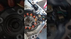 installing 70 watt lighting stator on 2013 crf450r youtube
