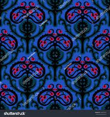 suzani vector seamless ethnic pattern uzbek stock vector 159537695
