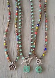 crochet necklace with beads images 84 best crochet necklaces with beads images crochet jpg