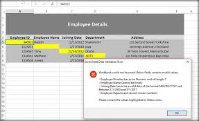 implement excel validations using vba macro before uploading to