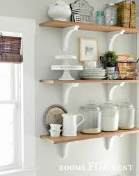 open kitchen shelves decorating ideas decorating kitchen shelves ideas emejing open kitchen