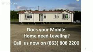 how to level a mobile home 863 808 2200 lakeland mobile home