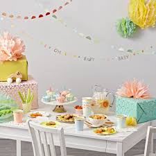 Pink And Yellow Birthday Decorations All Kids Party Decorations U0026 Decor The Land Of Nod