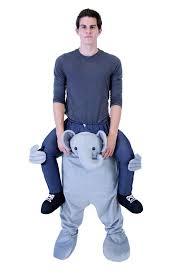 amazon com piggyback ride on riding shoulder costume clothing