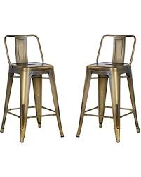 industrial metal bar stools with backs slash prices on ac pacific modern industrial metal barstool with
