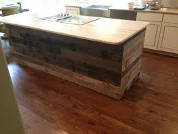 reclaimed wood kitchen island tongue and groove reclaimed barnwood on a kitchen island image by
