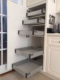 Kitchen Cabinets With Pull Out Shelves Fabulous Pull Out Shelves For Kitchen Cabinets Ikea Drawers