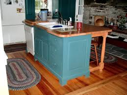 hand made kitchen island by d c nauman chairmaker