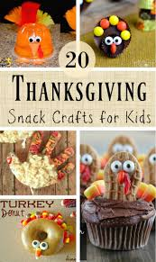 healthy thanksgiving snack crafts for kids southern made simple