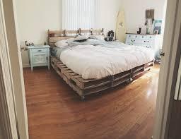 Pallet Platform Bed Bedroom Making A Pallet Bed Furniture Made Out Of Pallets Pallet