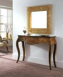 Entrance Tables And Mirrors Modern Concept Entry Tables And Mirrors With Foyer Design