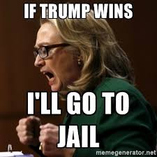 Jail Meme - trump because you ll be in jail congressional show trials