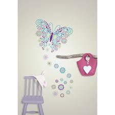 wallpops wall art kit social butterfly decal reviews wayfair wall art kit social butterfly decal