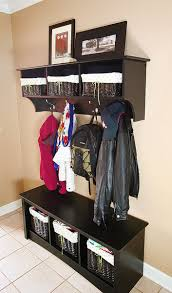foyer storage solutions with great design custom closets direct