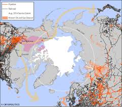 Arctic Circle Map 25 September 2014 Cryopolitics