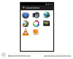 gridview android android gridview exle displaying images android tutorial