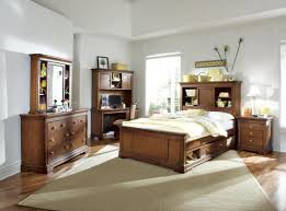 Bookcase Headboard With Drawers Finn Cherry Queen Size Bookcase Headboard Captain U0027s Bed