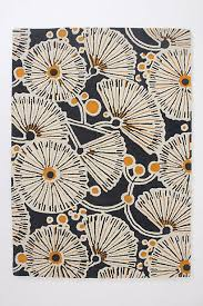 Anthropologie Kitchen Rug Tufted Gingko Rug You Can U0027t Beat Graphic Mixed With Floral