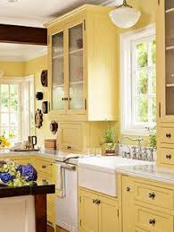 yellow kitchen ideas decorating with color yellow yellow kitchen cabinets cottage