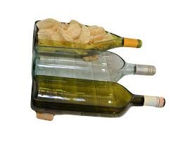 wine bottle serving dish large cut wine bottle cut into serving dish or planter wine gifts