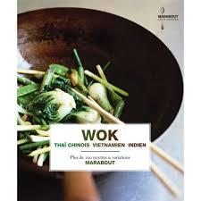 cuisine du monde marabout livre recettes wok marabout zekitchounette