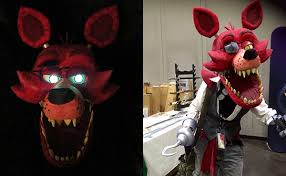 foxy costume incredibly terrifying five nights at freddy s foxy the pirate
