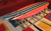 Surfboard Coffee Table Surfboard Table Surf Board Table Surfboard Furniture