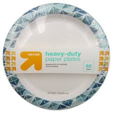 paper plates heavy duty disposable 10 paper plates 80ct up up target