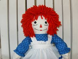 mini raggedy ann doll 15 inches tall traditional personalized